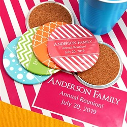 Personalized Two-Sided Coasters