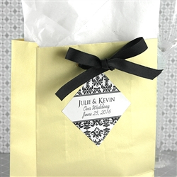 "1.9"" x 1.9"" Diamond Favor Label (Set of 20)"