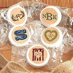 Monogram Kraft  Life Savers Mints