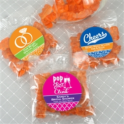 Personalized Gummy Bears - Champagne Flavor