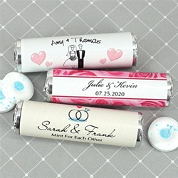 Personalized Breath Savers Mint Rolls
