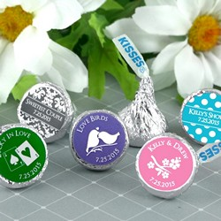 Personalized Hershey®'s Kisses® - Silhouette Collection
