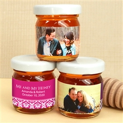 Personalized Photo Honey Favors