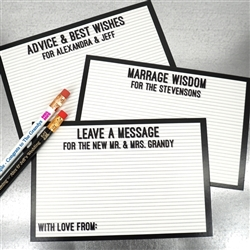 Letter Board Advice Cards (Set of 25)