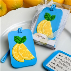 CITRUS THEMED LUGGAGE TAG