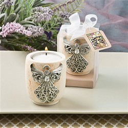 Exquisite angel design candle tea light holder
