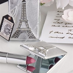 Eiffel Tower design compact mirrors