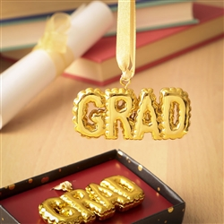 Gold Grad hanging Ornament from gifts by fashioncraft (set of 12)