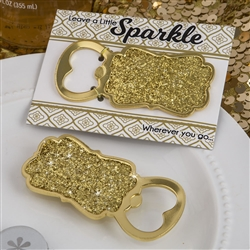 Golden elegance collection gold bottle opener