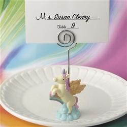 On Trend Unicorn Place Card Holder