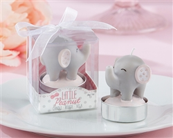 Little Peanut Elephant-Shaped Candle (Set of 4)