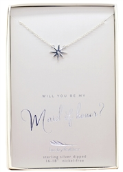 Will You Be My Maid of Honour? Necklace