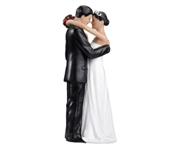 Couple Figurine with Dark Hair