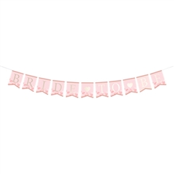 Pink and Gold Bride-To-Be Bunting
