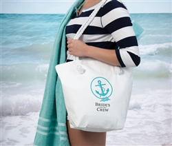 Bride's Crew Beach Bag