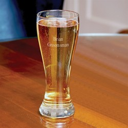 Custom Pilsner Glasses