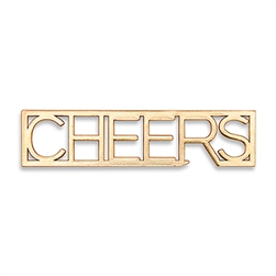 Gold CHEERS Bottle Opener Wedding Favour