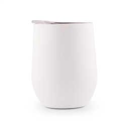 Stemless Travel Tumbler - White