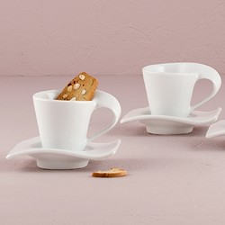 Swish Cup And Saucer Sets (set of 4)