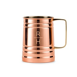 Moscow Mule Stein - Stacked Monogram Etching