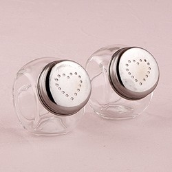 Miniature Classic Candy Jar Salt And Pepper