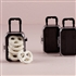 Miniature Travel Trolley with Wheels and Retractable Handle (pk of 6)