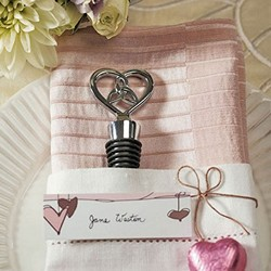 """The Love Knot"" Bottle Stopper With Gift Packaging"