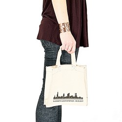 City Style Personalized Tote Bag - Small