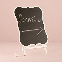 Decorative Chalkboards With White Frame - Large