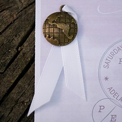 Globe Charms (package of 12)