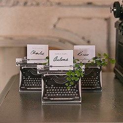 Vintage Inspired Typewriter Favor Box Kit (Package of 10)