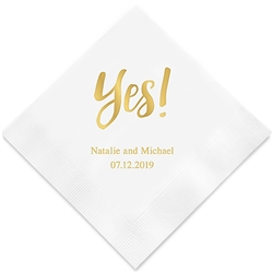 Yes! Printed Napkins