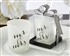 Mr. and Mrs Frosted Votive Favor