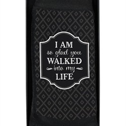 Men's Socks -Walked Into My Life Sock