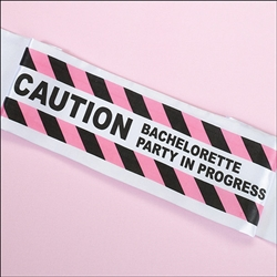 Bachelorette Party Caution Sash