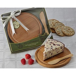 """La Fromagerie"" Cheese Board & Spreader"