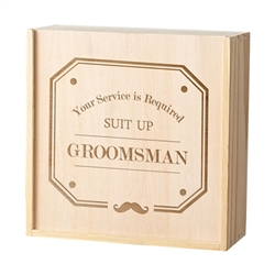 Best Man/ Groomsman Spirit Gift Box - 2 Designs