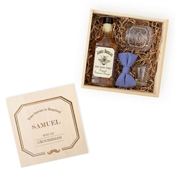 Personalized Best Man/Groomsman Spirit Gift Box Set (2 Designs)