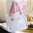 Personalized Flowergirl Tote Bag