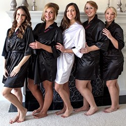 Personalized Satin Robes (Multiple Colors Available)