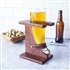 Personalized 16 oz. Viking Beer Horn Glass with Stand