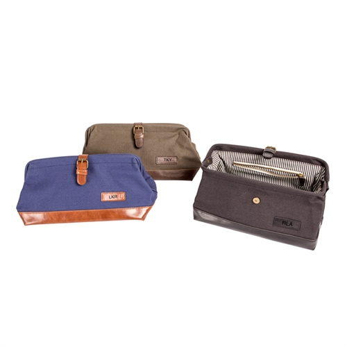 1bf425859bcf Personalized Men s Travel Dopp Kit- ON SALE at The Wedding Shoppe Canada