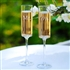 Contemporary Champagne Flutes (three options to chose from! Mr & Mr, Mrs & Mrs, Mr & Mrs)