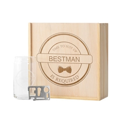 Best Man/Groomsman Craft Beer Gift Box Set (2 Designs)