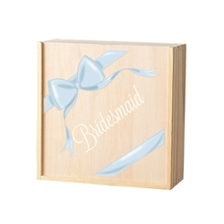 Bridesmaid/Maid of Honor Ribbon Attendant Box (3 Designs)