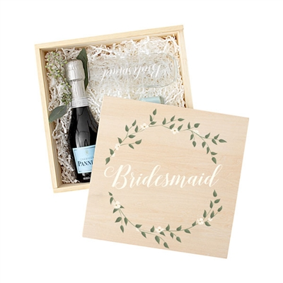 Floral Bridal Party Gift Box Set (3 Designs)