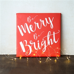 Merry & Bright Gallery Wrapped Canvas