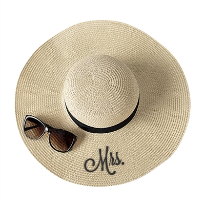 Mrs. Natural Straw Sun Hat