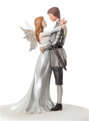 Fantasy Fairy Wedding Cake Topper