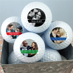Personalized Photo Golf Ball Favours